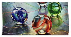 Marbles 4 Hand Towel