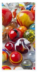 Marbles Close Up Hand Towel