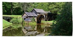 Bath Towel featuring the photograph Marby Mill 2 by Paul Ward