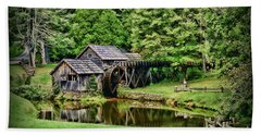 Marby Mill Landscape Hand Towel by Paul Ward