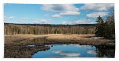 March Afternoon At Black Creek Hand Towel
