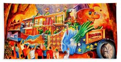 Mardi Gras With Endymion Hand Towel