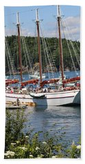 Margaret Todd On A Sunny Day Hand Towel by Living Color Photography Lorraine Lynch