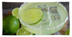 Hand Towel featuring the photograph Margarita Close Up by Teri Virbickis
