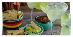 Hand Towel featuring the photograph Margarita Party by Teri Virbickis