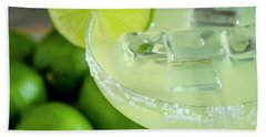 Bath Towel featuring the photograph Margaritas Anyone by Teri Virbickis