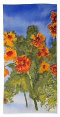Marigolds Hand Towel
