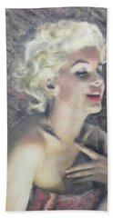 Marilyn Monroe Bath Towel