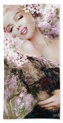 Marilyn Cherry Blossom B Hand Towel