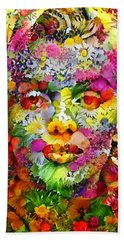 Marilyn Flower Bath Towel