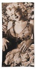 Marilyn Monroe 126 A 'sepia' Bath Towel