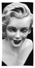 Marilyn Monroe Bath Towel by JoAnn Lense