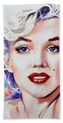 Marilyn Monroe  Hand Towel