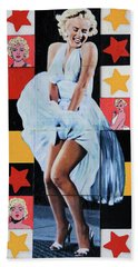 Marilyn Monroe The Star Bath Towel