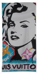 Marilyn Vuitton Hand Towel