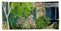 Marin Art And Garden Center Bath Towel by Tom Simmons