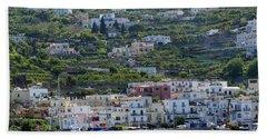Marina Grande, Isle Of Capri Hand Towel