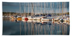 Marina Sunset 7 Hand Towel