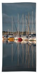 Marina Sunset 8 Hand Towel