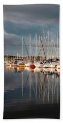 Marina Sunset 9 Hand Towel