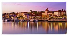 Marina Sunset, Mindarie Hand Towel by Dave Catley