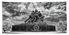 Marine Corps War Memorial Bath Towel