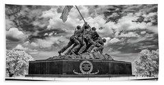 Marine Corps War Memorial Hand Towel