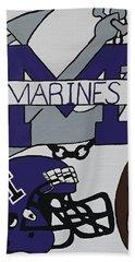 Marinette Marines. Hand Towel by Jonathon Hansen