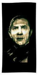 Mark Of The Vampire Hand Towel by Fred Larucci