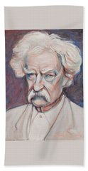 Mark Twain Bath Towel