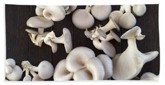 Market Mushrooms Hand Towel
