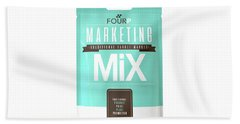 Marketing Mix 4 P's Hand Towel