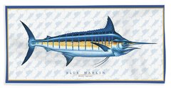 Marlin Id Bath Towel