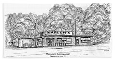 Marlows Market Hand Towel