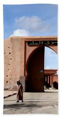 Hand Towel featuring the photograph Marrakech 1 by Andrew Fare
