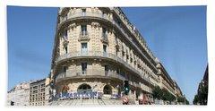 Marseille, France Bath Towel