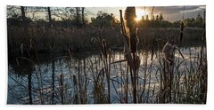 Marsh-pond-rawlinsonpark Bath Towel