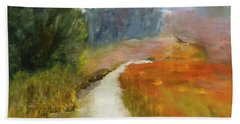 Marshes Of New England Bath Towel
