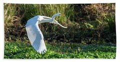 Marshy Flight  Bath Towel