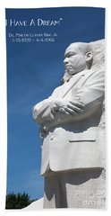 Martin Luther King Jr. Monument Bath Towel