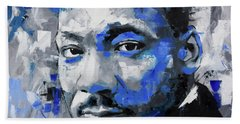 Martin Luther King Jr Bath Towel