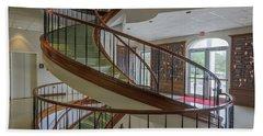 Marttin Hall Spiral Stairway 2 Bath Towel