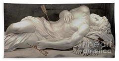 Martydom Of Saint Sebastian By Antonio Giorgette Bath Towel