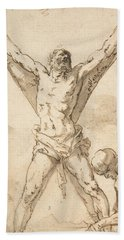 Martyrdom Of St. Andrew Bath Towel