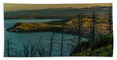 Mary Bay At Dawn Hand Towel by Yeates Photography