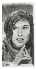 Mary Tyler Moore Hand Towel