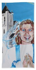 Mary's First Communion Hand Towel