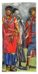 Masai Women Bath Towel