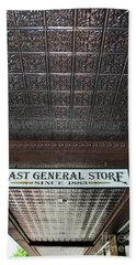 Bath Towel featuring the photograph Mast General Store II by Skip Willits