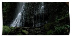 Matai Falls Hand Towel by Brad Grove